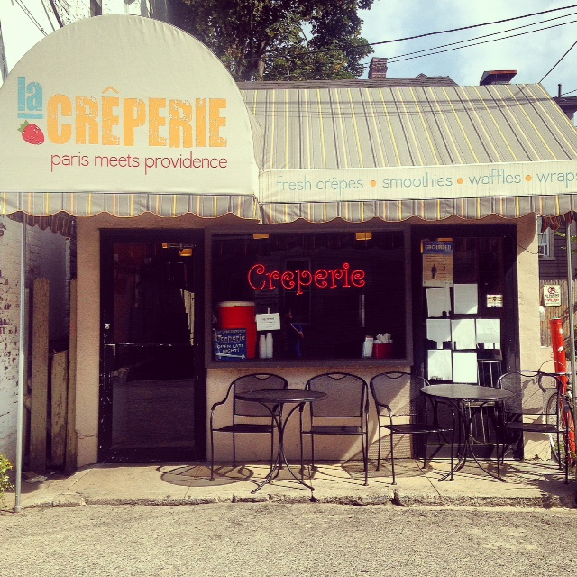 Creperie storefront